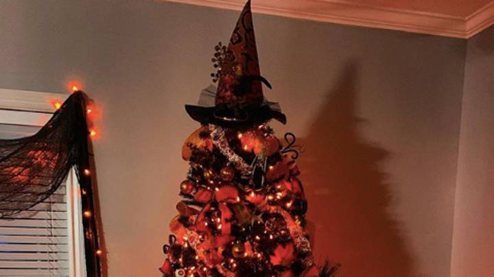 Halloween Trees Are The New Trend For People Who Love All Things Spooky
