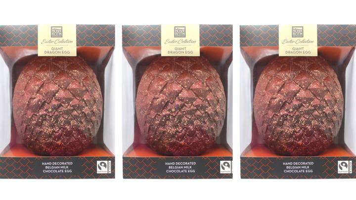 ALDI's New Easter Egg Range Including A Giant Ostrich Egg Looks Eggs-quisite