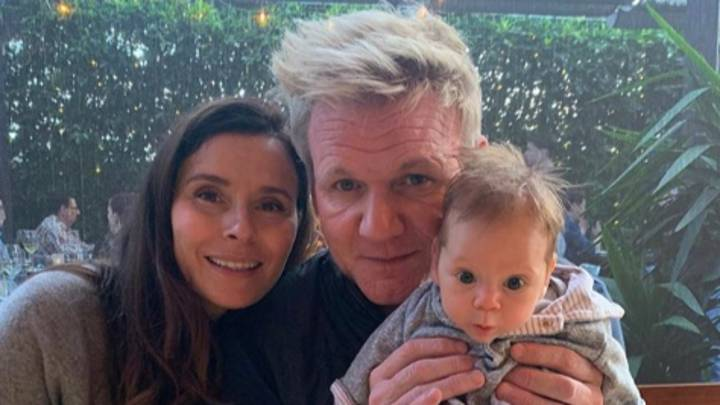 Gordan Ramsay Shares Photos Of Two-Month-Old Son Oscar Pouting