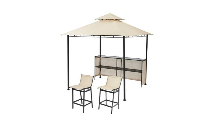Aldi Is Now Selling A Gazebo Bar For Your Garden Parties