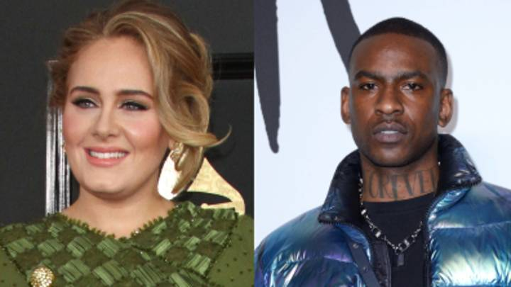Skepta Reignites Adele Romance Rumours As He Leaves Flirty Message On Her Glastonbury Throwback Post