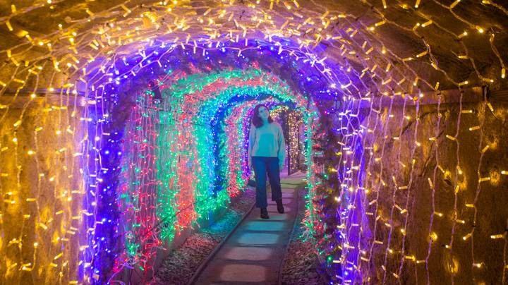 This Stunning Tunnel Of Festive Lights Just Opened Its Doors For The First Time In The UK