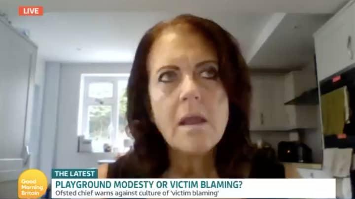 Good Morning Britain Viewers Shocked As Headteacher Says School Girls Wearing Skirts Make People Feel 'Uncomfortable'