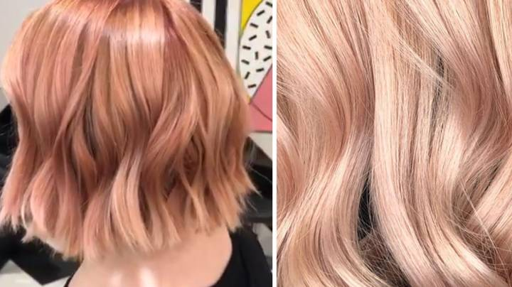 Rose Gold Hair Is The New Colour We're All Lusting After