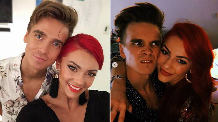 Joe Sugg's Granny Says He's 'Head Over Heels' For Dianne Buswell