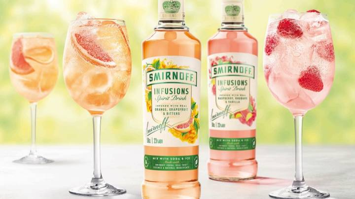 Smirnoff Just Launched A New Fruit Vodka For Bank Holiday