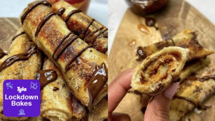 Lockdown Bakes: People Are Making Biscoff French Toast Roll Ups And They're So Easy