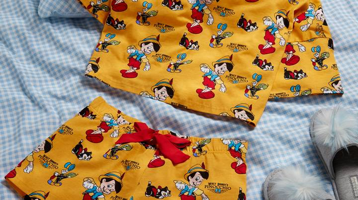 Primark Has Launched A 'Pinocchio' Loungewear Range