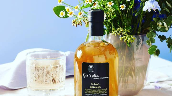 Hot Cross Bun Flavoured Gin Is Back For Easter