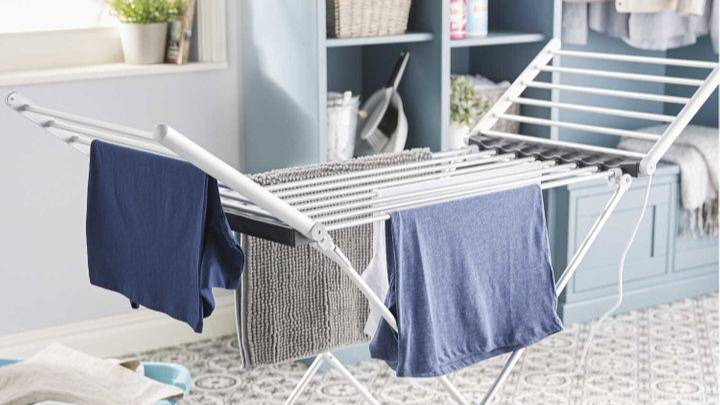 Aldi's Heated Clothes Airer Is Coming Back To Stores This Week