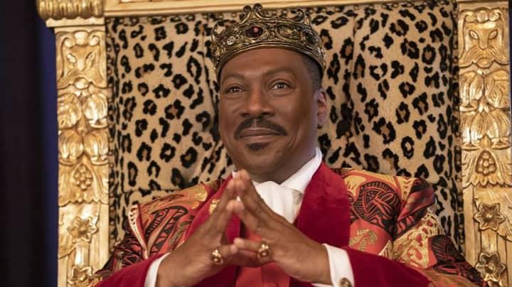 First Look at Eddie Murphy As Prince Akeem In Coming 2 America