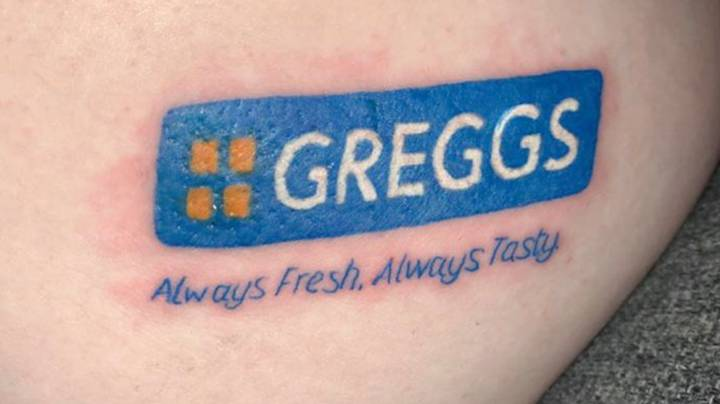 Woman Gets Greggs Tattoo On Bum As She Missed Sausage Rolls So Much During Lockdown