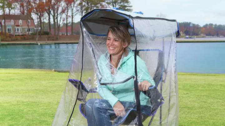 You Can Now Get A Camping Chair With A Waterproof Cover