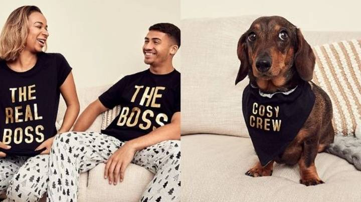 ASDA Launches Matching Christmas PJs For The Entire Family And The Dog