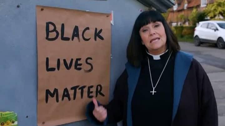 Vicar Of Dibley Fans Praise BLM Tribute As Geraldine Takes Knee
