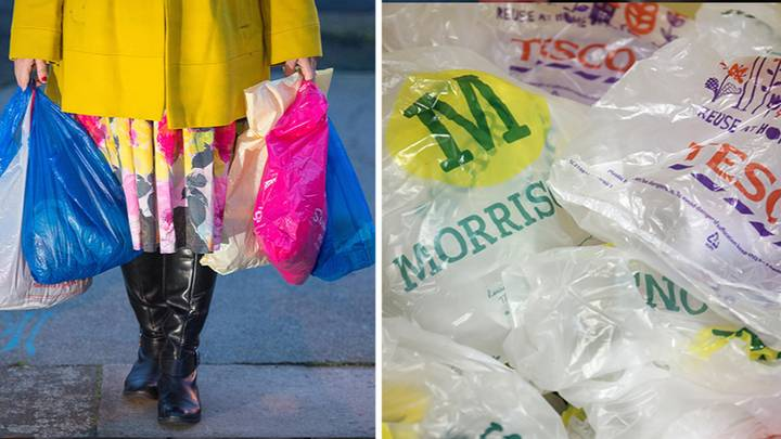 Plastic Carrier Bag Charge Doubles In Price From Today