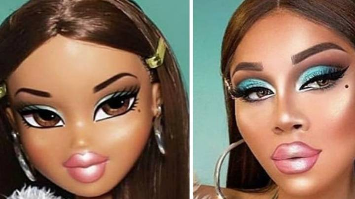 The Bratz Challenge Makeover Has Gone Viral And These Photos Reveal Why