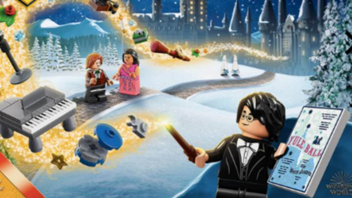 You Can Now Buy A 'Harry Potter' Lego Advent Calendar
