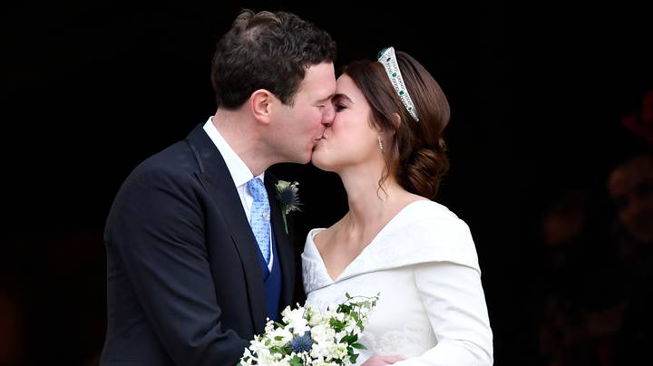 Princess Eugenie Shows Off Scar From Spinal Operation With Low Back Wedding Dress