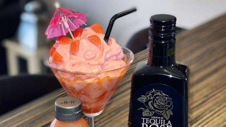 Everyone's Making Extra AF Percy Pig Cocktails At Home