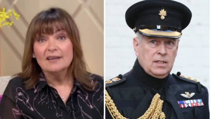 Lorraine Kelly Shocks Viewers With Prince Andrew Comment Following Meghan Markle Discussion