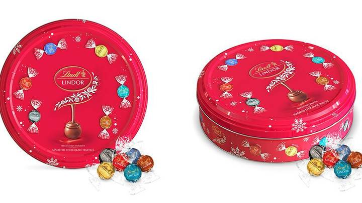 Lindt Launches First Ever Sharing Tin For Christmas And It's A Game Changer