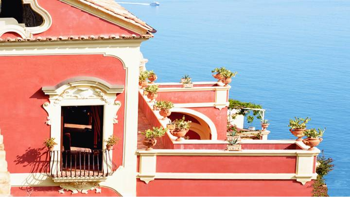 You Can Now Celebrate Galentine's Day in a Hot Pink Italian Villa