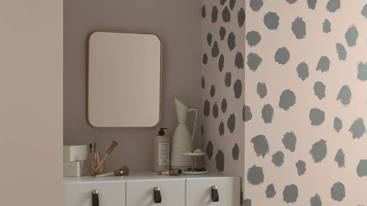 These Polka Dot Feature Walls Are Serious Goals