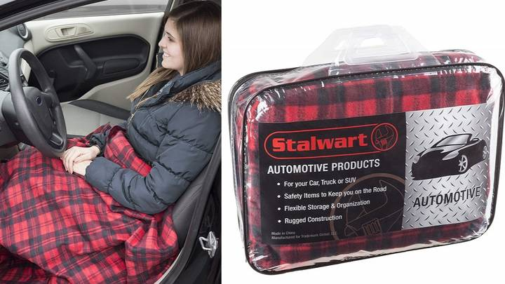 You Can Now Get An Electric Blanket That Connects To Your Car