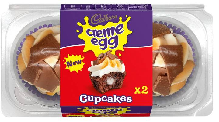 You Can Buy Creme Egg Cupcakes And It's A Dream Come True