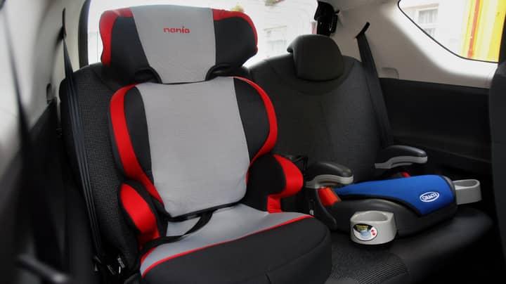 Paramedic Urges Parents To Put Notes On Children's Car Seats