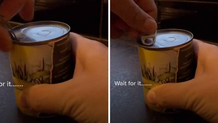This is Actually The Correct Way To Open A Can
