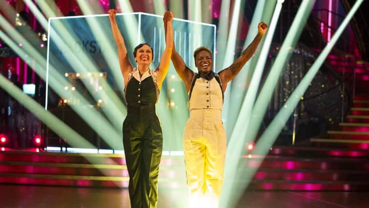 Strictly Come Dancing Fans Crying Happy Tears As Nicola Adams And Katya Jones' Same-Sex Dance