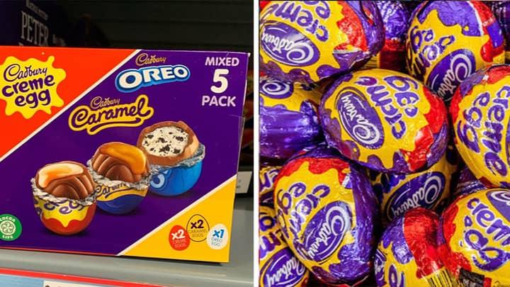 Cadbury Launches Mixed Creme, Oreo And Caramel Egg Multi Pack
