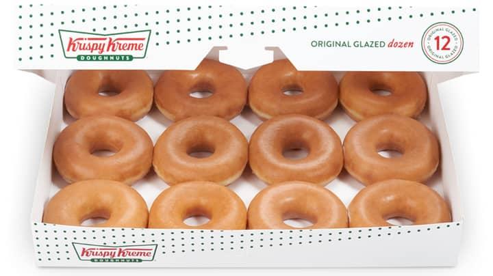Krispy Kreme Is Giving Away Free Doughnuts