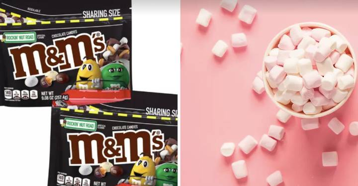 You Can Now Buy Marshmallow-Flavoured M&M's