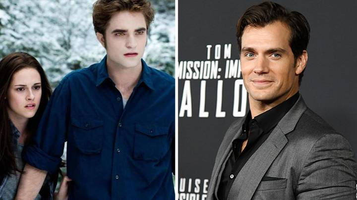 Twilight Author Originally Wanted Henry Cavill To Play Edward Cullen