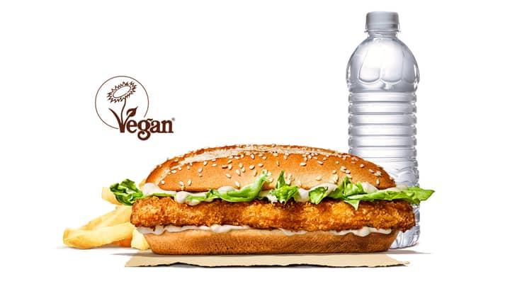 Burger King Launches New Vegan Royale Burger