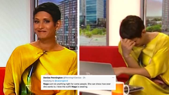 BBC Breakfast's Naga Munchetty's Outfit Criticised By Sexist Trolls