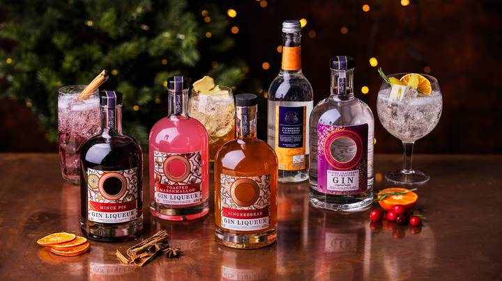 ASDA Reveals Its New Christmas Gin Range And We Want It All
