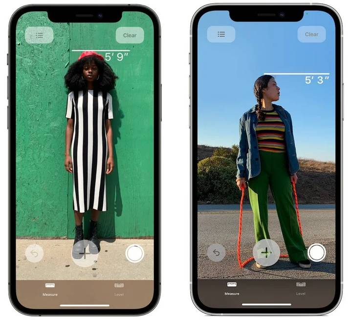 iPhone 12 Pro Allows You to Measure Someone's Height Instantly Using Scanner