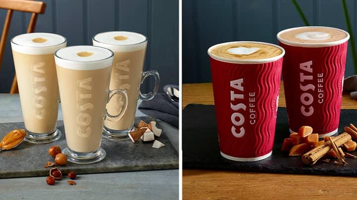 Costa Launches New Latte Range
