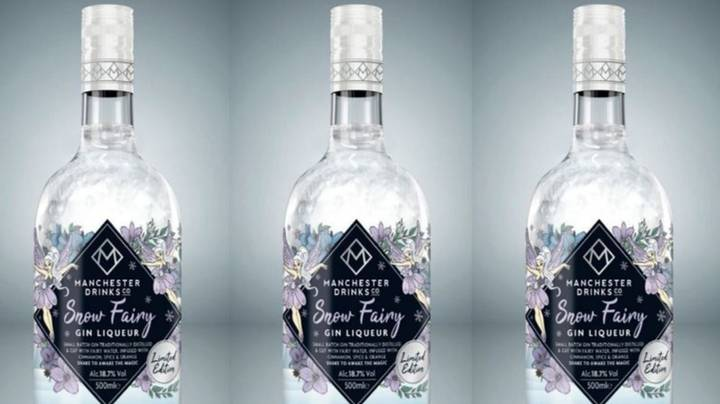 You Can Now Buy Glittery Snow Fairy Gin For Christmas