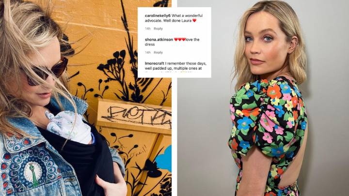 Laura Whitmore Praised For Showing Nursing Pads Underneath Her Dress