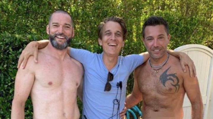Fans Are Losing Their Minds Over Gino D'Acampo And Fred Sirieix's Naked Snap