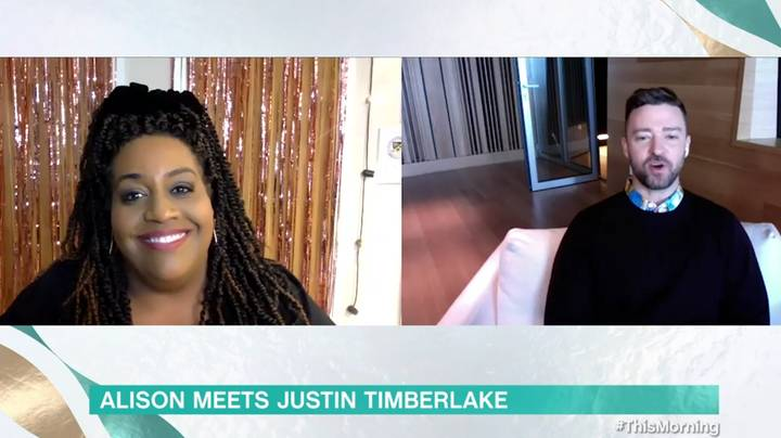 Justin Timberlake Leaves Viewers In Stitches Over Awkward This Morning Interview With Alison Hammond