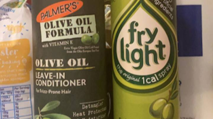 Woman Uses Conditioner Instead Of Cooking Spray For Entire Week
