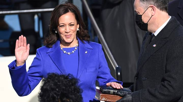 Inauguration Day 2021: ​Kamala Harris Becomes America's First Female Vice-President