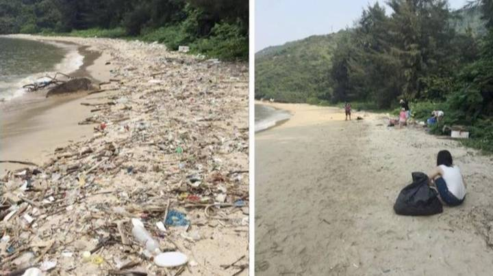 The #TrashTag Challenge Is Making Cleaning Up The Planet Go Viral