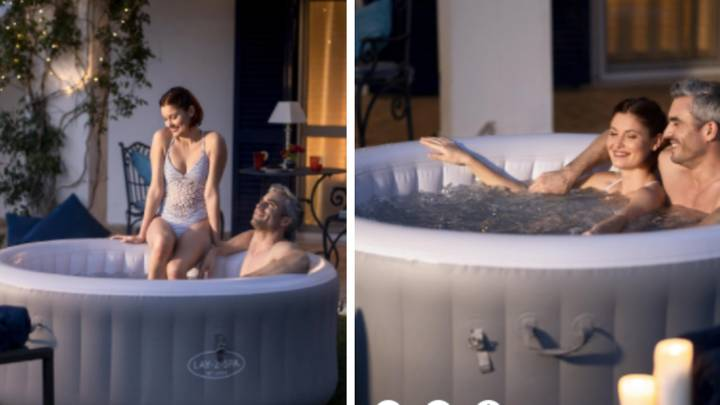 B&Q Is Selling A Massive Three-Person Lay-Z-Spa And It's Such A Bargain
